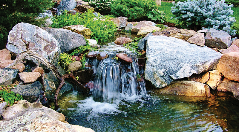 For Waterfalls And Ponds Go Natural, Garden Waterfall Pond